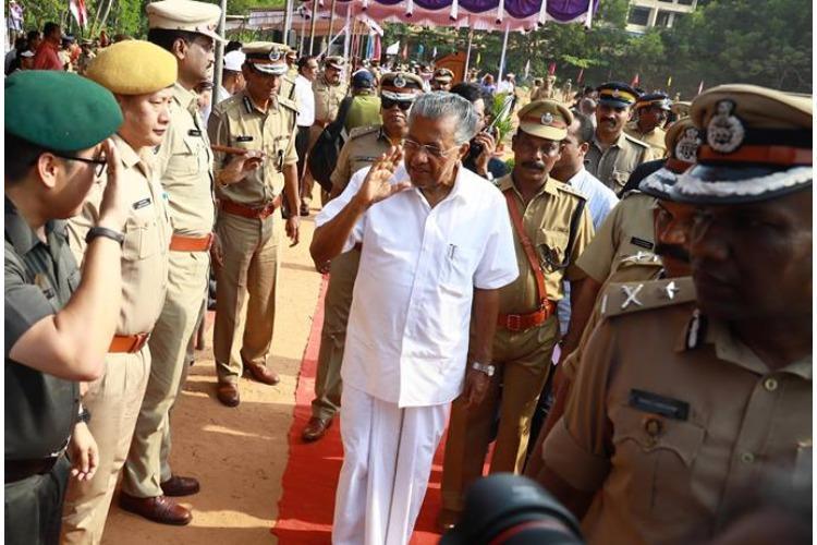 Kerala cop suspended for sharing defamatory posts against CM govt