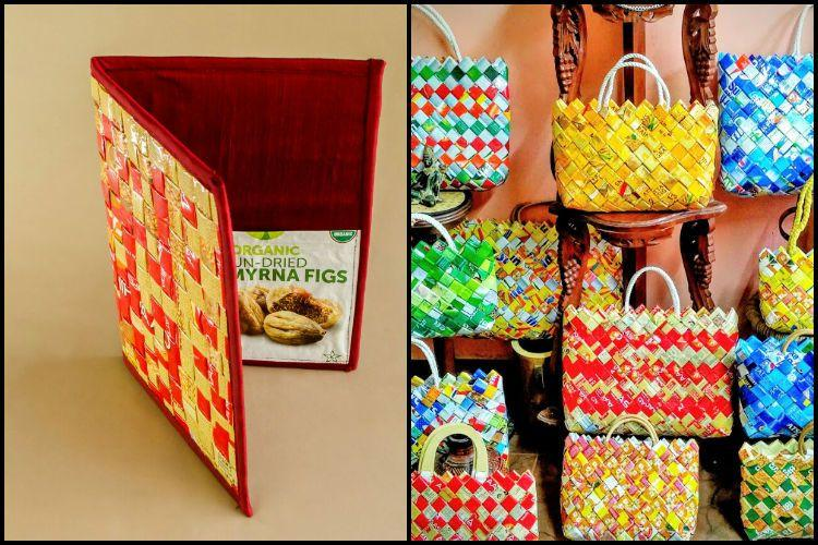 From Bags To Home Decor How This Kerala Ngo Turns Plastic Waste