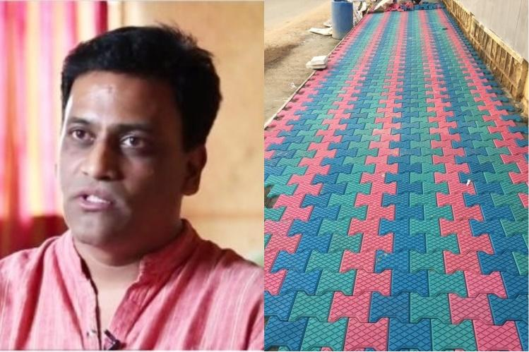 This Hyd entrepreneur is making houses bathrooms and more using treated plastic