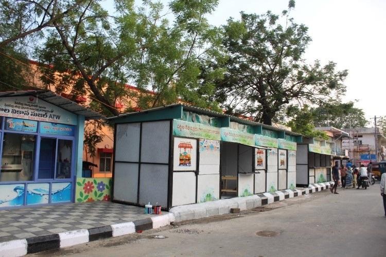Telanganas Sircilla builds eco-friendly kiosks for vendors using recycled plastic