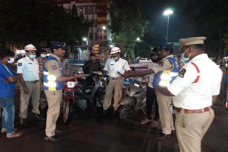 Telangana biker fined Rs 10000 under new Motor Vehicles Act for drunk driving