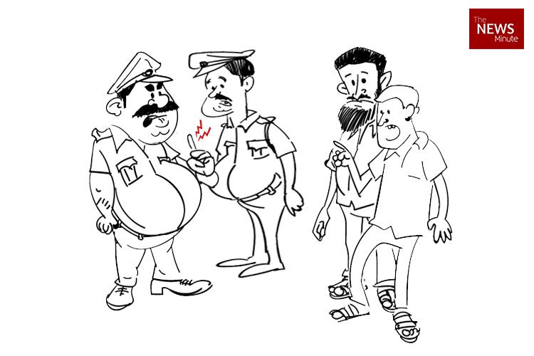 Drunk man bites Bengaluru cops finger in a bid to escape gets caught anyway