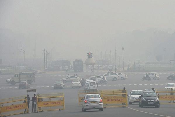 Four out of five most polluted cities in the world now in India