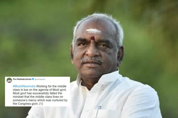 How do you get a BJP minister to tweet against his party Edit a public document
