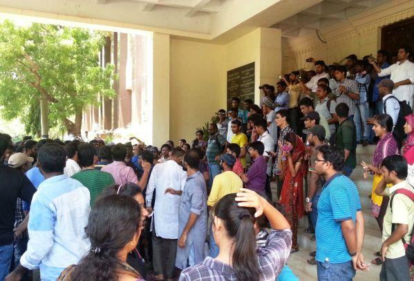 After almost a year of protests Pondicherry University VC finally quits