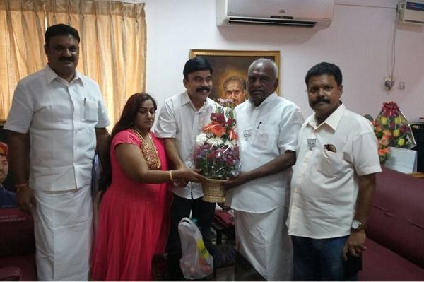 Actor PowerStar Srinivasan joins Tamil Nadu BJP