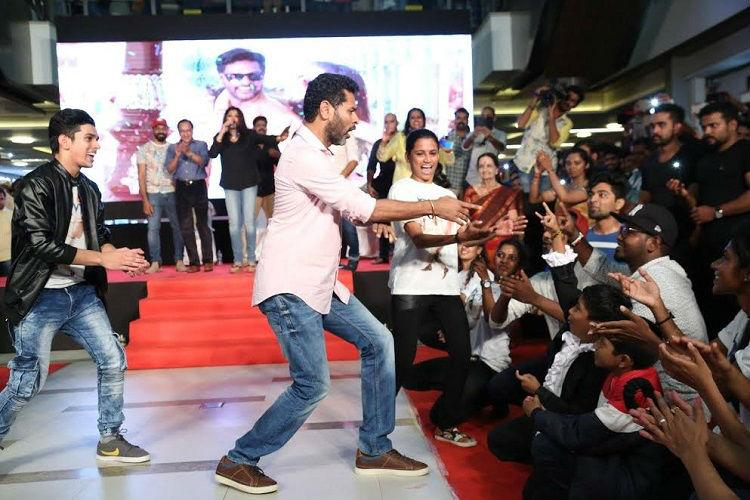 When Prabhudeva left audiences in awe at a Kochi mall