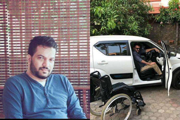 Give jobs to the disabled Quadriplegic Kerala man drives to Delhi for a cause