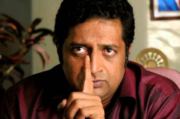 I should give my awards to them Prakash Raj slams Modi Yogi Adityanath for acting