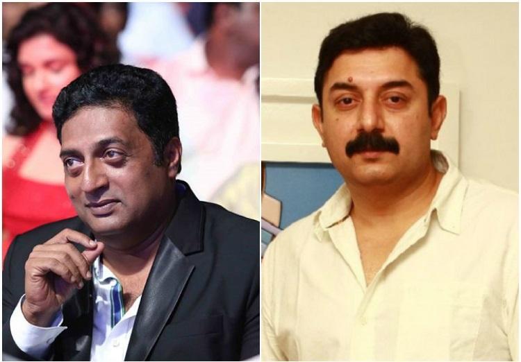 After Kamal actors Prakash Raj and Arvind Swami speak up on terrorism and right wing