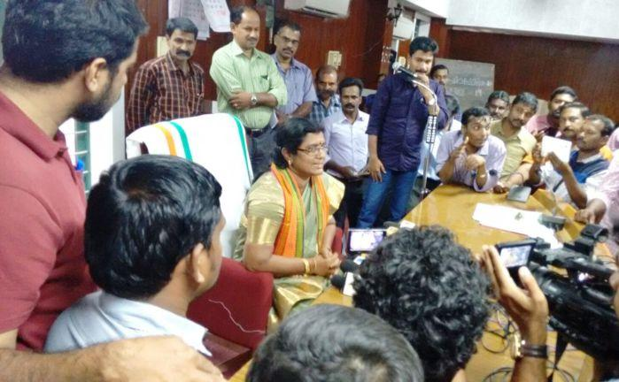 A first for the BJP in Kerala party to head Palakkad municipality