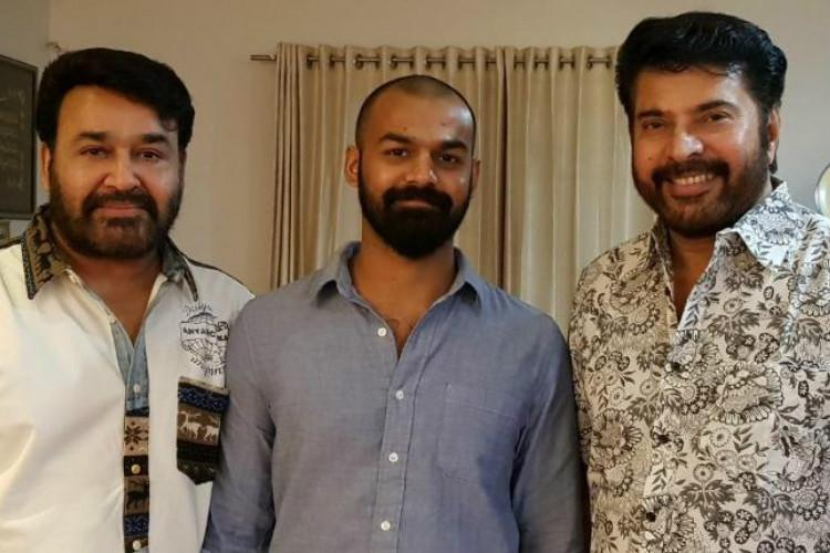 Mammootty wishes Pranav Mohanlal all the best for Aadhi