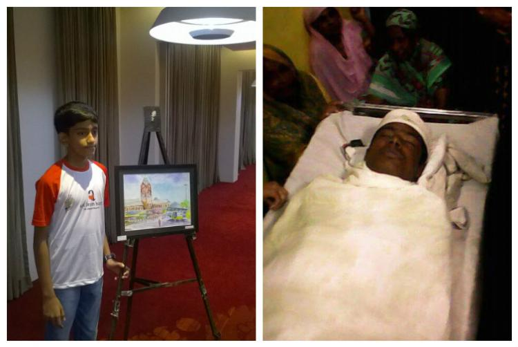 Chennais young heroes One gave his life and the other used his art to help the city