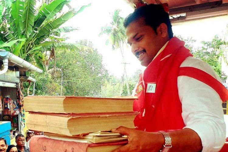Why Kerala MLA VK Prasanth is asking people to give him books instead of flowers
