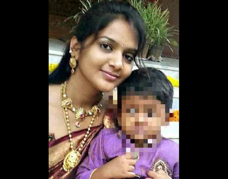 She was murdered for dowry says father of woman who jumped off a hill with her toddler in Bengaluru