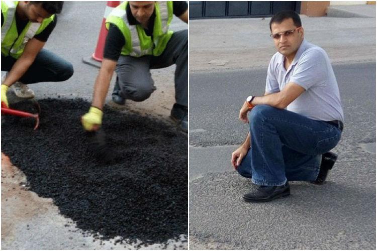 Meet Bengalurus PotHoleRaja He wants to fix the citys roads and needs your help