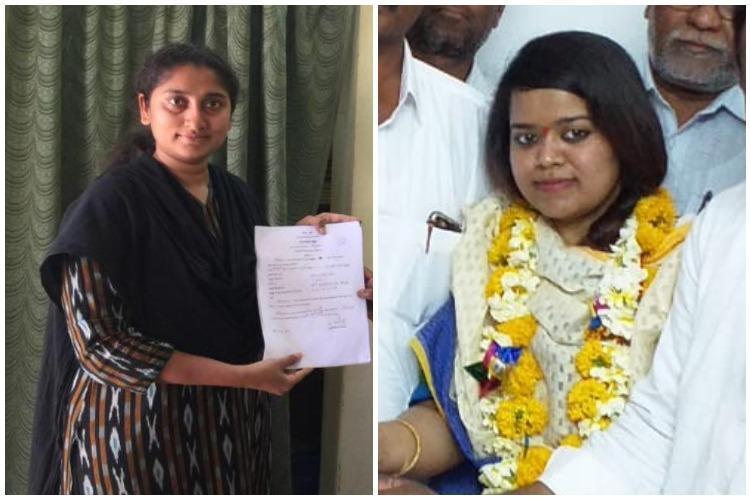 2 Young Women decided to contest Telangana Panchayat Polls