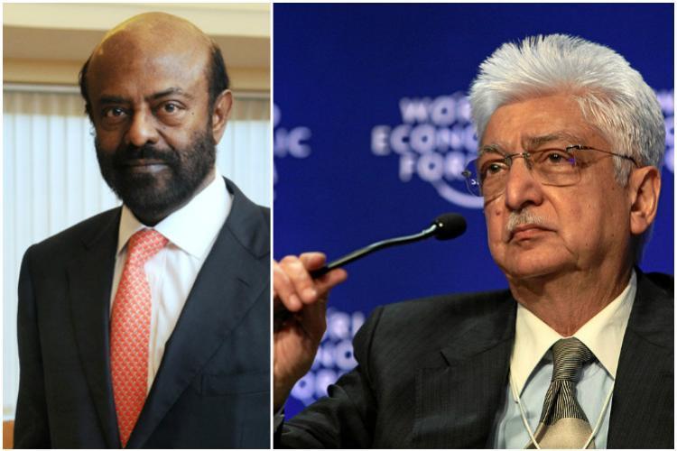 Azim Premji Shiv Nadar in Forbes list of 100 richest tech tycoons
