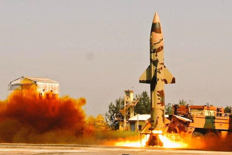 India successfully test fires Prithvi II ballistic missile
