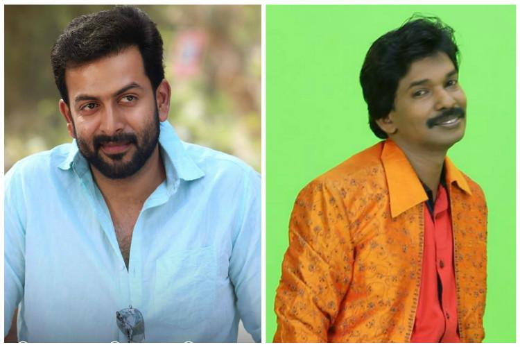 Im ready to listen to Santhosh Pandits scripts Prithviraj takes a stand on trolling the internet celebrity
