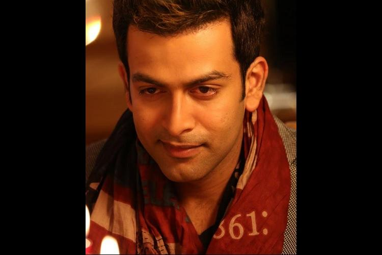 Actor Prithviraj writes a note in Malayalam asking his fans not to fight over him