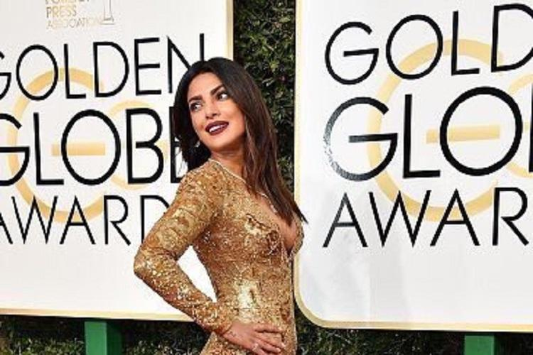 Priyanka Chopra makes a glittering statement at Golden Globes 2017