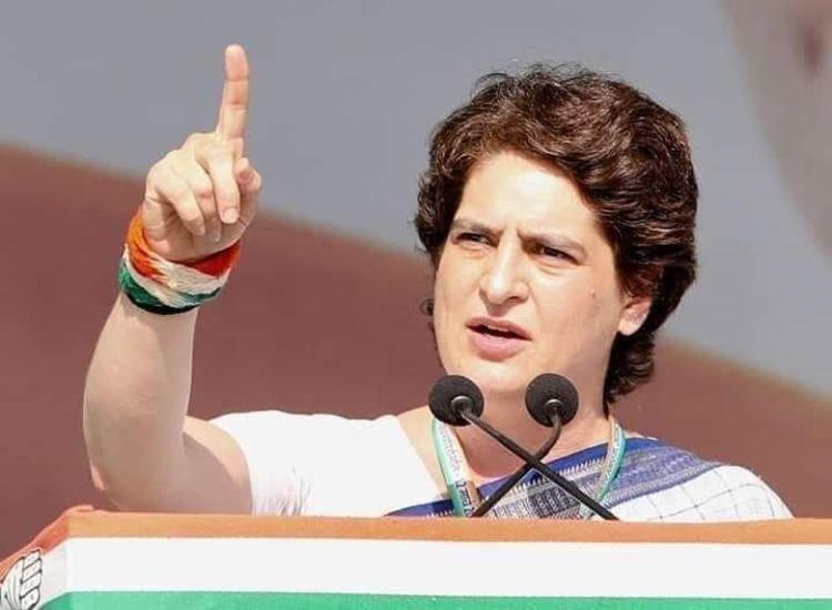 Priyanka Gandhi detained while trying to meet families of UP firing victims