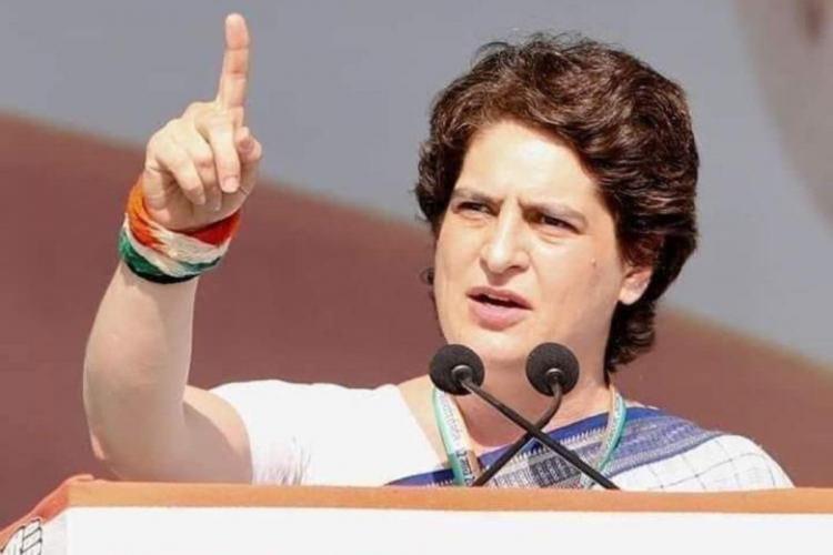 Priyanka Gandhi slams UP CM govt over issue of womens safety