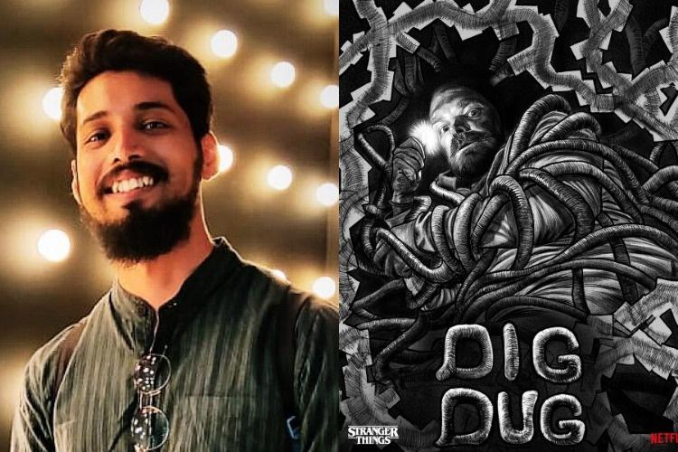 Meet Hyd artist Sri Priyatham, Netflix official illustrator