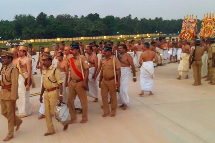 Gods on the runway This Kerala airport halts flights to make way for temple processions