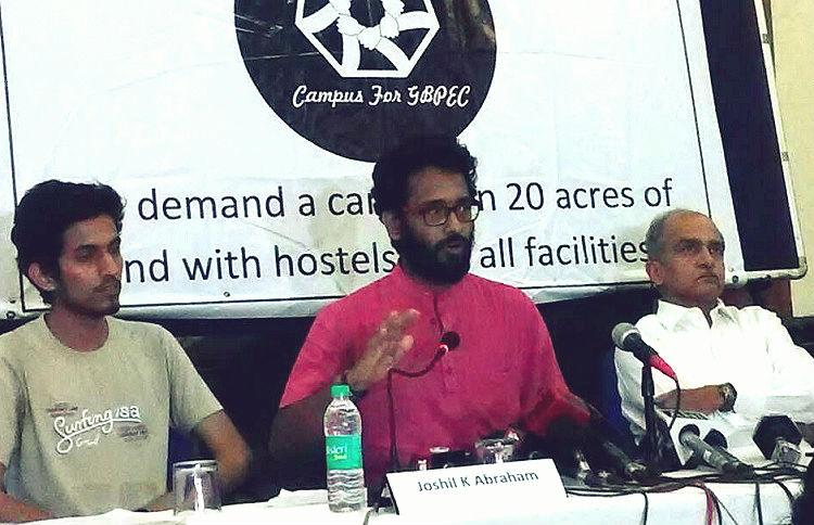 This Delhi professor from Kerala has been on hunger strike for 24 days for a proper campus