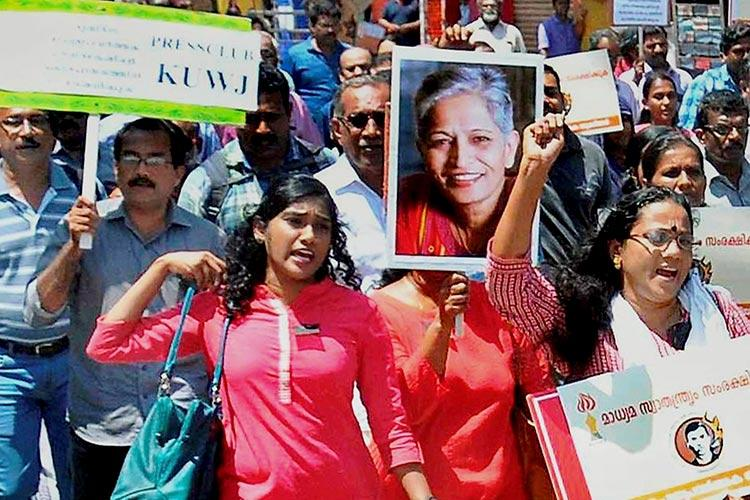 Here be dementors In the face of turbulence a journalists promise to Gauri Lankesh