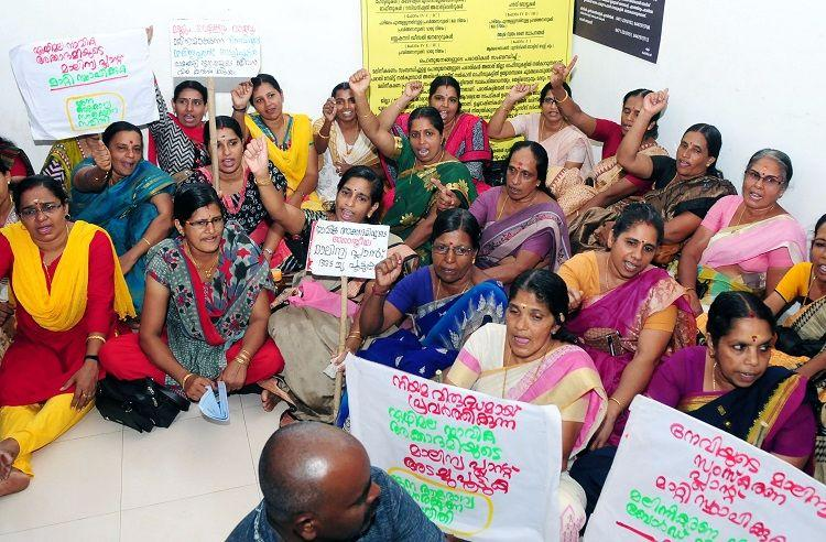 For clean drinking water Peoples protest against Naval Academys sewage treatment plant intensifies
