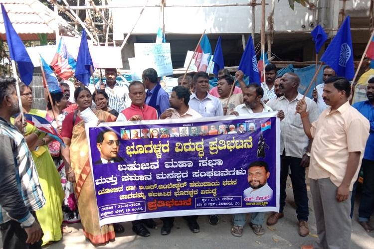 Land meant for Dalit community hall usurped by pvt builders in Bengaluru