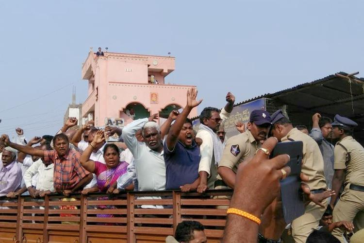 Unfair to curb democratic dissent Andhra Dalit activists cry foul over house arrest