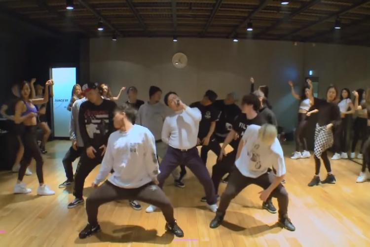 Watch Gangnam Style Psy set the dance floor on fire during practice youll be awestruck