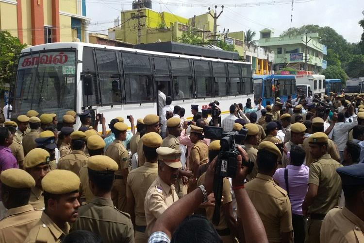 Massive protests in Tiruvannamalai over allegations of caste-based verbal abuse by TN minister