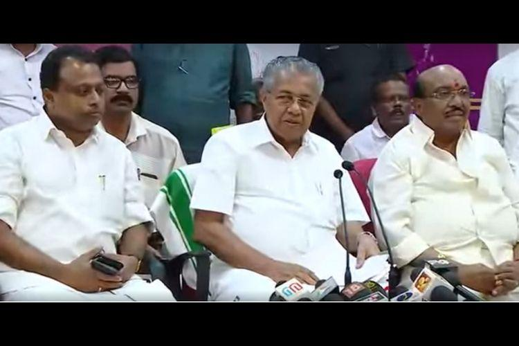 Kerala CM announces women wall awareness campaigns to promote govts Sabarimala stand