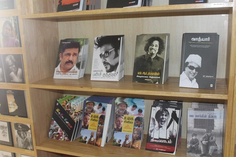 Where the bibliophile meets the cinephile Chennais only bookshop dedicated to the movies