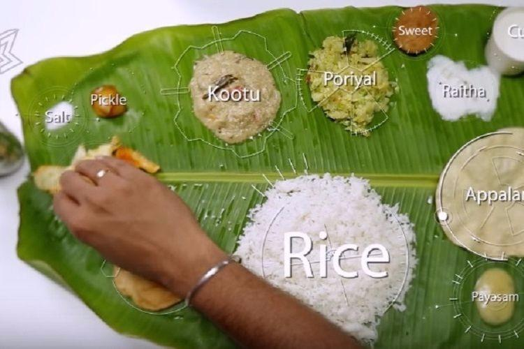 Seriously funny explainer on science behind eating from banana leaf
