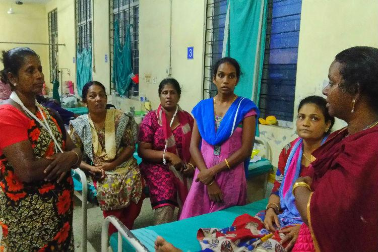 Police beat us starved us didnt let us use toilet Protesters against Ernakulam IOC plant