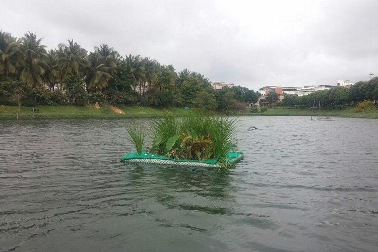 Bengaluru locality has come up with an innovative idea to restore the Puttenahalli Lake