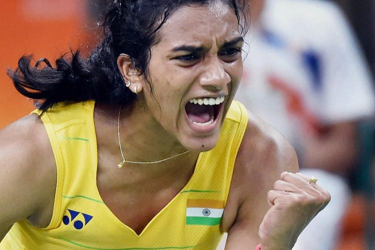 Sindhu makes the Sun set in China
