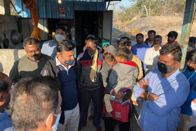 Karnataka quarry where blast killed 6 was already under police probe