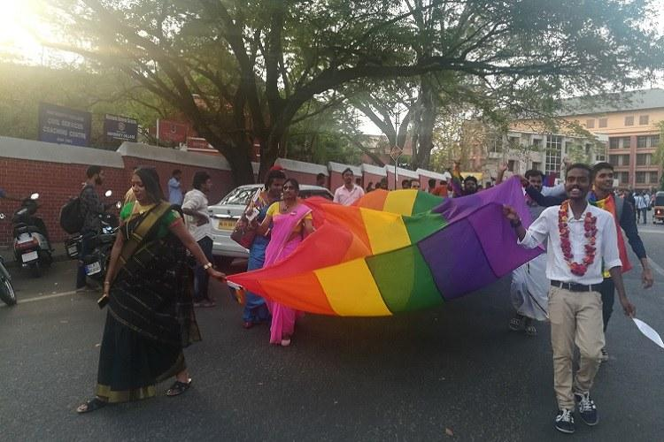 LGBT theatre group self group for transgender persons launched at Kerala queer pride