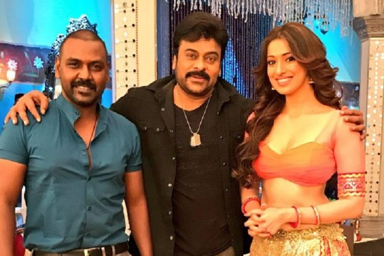 Exclusive Dancing with Chiranjeevi was the experience of a lifetime says Raai Laxmi