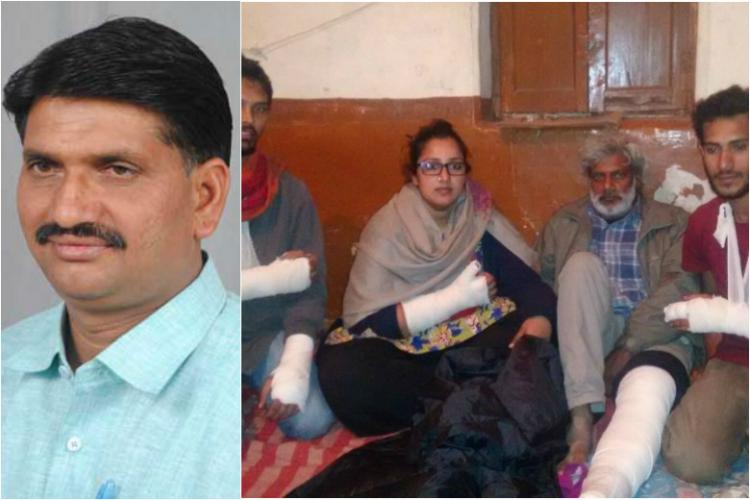 BJP MLA slapped me when I asked him to stop attacking Social activists painful account