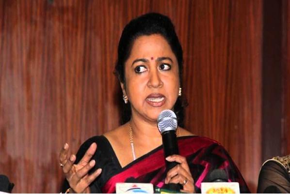 Radikaa Sarathkumar lashes out at Vijayakant questions his credibility