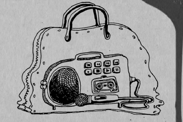 Radio in a purse Bluru groups unique way to get students to speak on sexual abuse