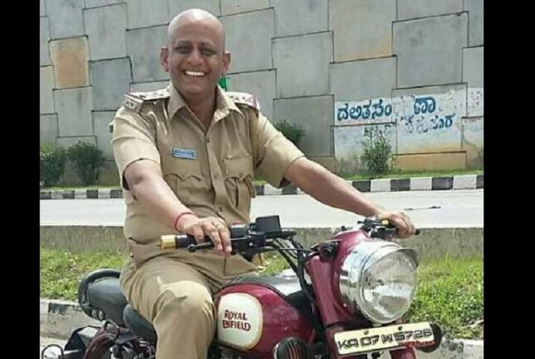 Ktaka policeman shoots himself inside police station suicide note says no one responsible